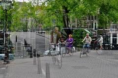 Worlds colliding (naromeel) Tags: amsterdam netherlands doubleexposure