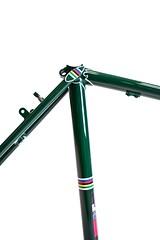 Jack Taylor Respray in Brunswick Green (ellisbriggscycles) Tags: reynolds531 jacktaylor touringbike