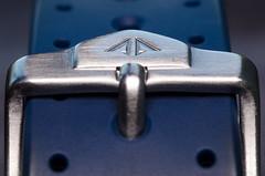 Follow the arrow (SLX_Image) Tags: blue citizen diver macro macromondays photography promastersea watch promaster