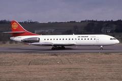 F-BMKS EDI 20-3-1994 (Plane Buddy) Tags: fbmks sud caravelle 10b airtoulouse edinburgh egph