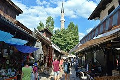 Sarajevo, a walk in Baarija, the old Turkish bazaar built in the 15th century,  Explore Dec 7, 2016 (Valerio_D) Tags: sarajevo bosnia bosna hercegovina baarija bosniaeerzegovina bosniaerzegovina bosniaandherzegovina bosniaederzegovina bih 2016estate