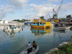 Harbour, Betio!