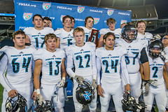 "State Final-695 (mark.calvin33) Tags: pontevedra football nightgame highschool pvhs runningback blocker offense defense kick pass catch hit tackle rush rushingyards rushing student quarterback tronti ""night ""friday night lights"" ""passing game"