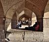 Iran 5964 (blackthorne57) Tags: iran persia esfahan polekhajubridge khajubridge zayandehriver