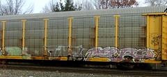 tars - (timetomakethepasta) Tags: tars aa freight train graffiti art autorack ttx benching selkirk new york photography