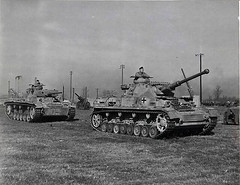 "Captured German Pz.III & Pz.IV at Aberdeen • <a style=""font-size:0.8em;"" href=""http://www.flickr.com/photos/81723459@N04/14085343719/"" target=""_blank"">View on Flickr</a>"