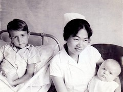Singapore nurse (P-T-G) Tags: baby hospital singapore patient nurse 1960s gleneagles