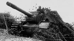 Powerful Soviet SU-152