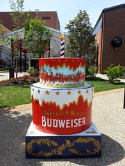 STL250 Cake at Anheuser-Busch Brewery in St. Louis, MO20140604_112737 (Wampa-One) Tags: cakes beer cake ab brewery budweiser clydesdales inbev stlouismo anheuserbusch anheuserbuschbrewery stl250 cakewaytothewest