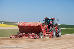 Plantation pommes de terre (Deschamps productions) Tags: tractor france de potatoes pommes case 400 plantation terre 450 planting gf fraise tracteur ih steiger grimme articul planteuse butteuse gl34t