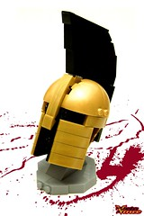 Spartan Helmet (ZetoVince) Tags: greek ancient lego helmet vince warrior sparta 300 spartan leonidas zeto zetovince
