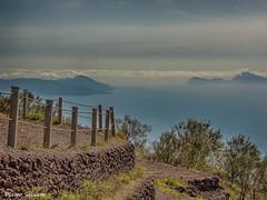 Pathway on the Gulf (HDR) (PietroEsse) Tags: sea panorama landscape capri napoli naples vesuvius vesuvio sentiero hdr penisolasorrentina gulfofnaples canonpowershots3is parhway