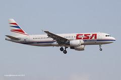 OK-MEI - 2007 build Airbus A320-214, on approach to Runway 06L at Palma (egcc) Tags: airbus ok mallorca palma majorca a320 csa 3060 pmi czechairlines lepa a320214 okmei