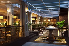 Nội thất nhà hàng Cây Xoài - HN_3