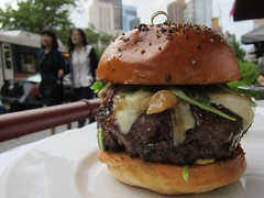 The Frenchie Burger, at Bar Boulud (Scoboco) Tags: more upperwestside gothamist uws barboulud nycburger