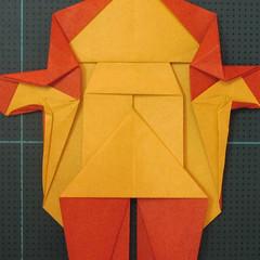 การพับกระดาษเป็นรูปปลาคาร์ฟ (Origami Koi Fish) 030
