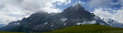 Bernese Alps (Bephep2010) Tags: summer panorama mountain alps berg schweiz switzerland sommer sony bern grindelwald alpen alpha 77 wetterhorn ptgui bernesealps berneralpen wellhorn mättenberg grossesengelhorn slta77v sal1650f28