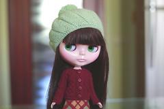 (Echo (EchoForDolls)) Tags: sweater doll buttons blythe beret rbl echofordolls lorshekmolseh