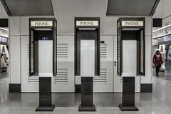 bad reception (kaihm) Tags: street city urban station booth singapore asia fuji phone south east fujifilm x100 23mm fujix x100s