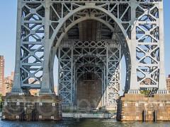 Williamsburg Bridge over the East River, Manhattan-Brooklyn, New York City (jag9889) Tags: nyc newyorkcity bridge usa ny newyork brooklyn river crossing unitedstates suspension manhattan unitedstatesofamerica landmark eastriver suspensionbridge waterway williamsburgbridge 2014 kingscounty jag9889 k179 20140809