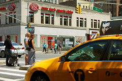 NYC  23rd & 8th Ave    July 12,   2014     DSC08191 (waitingfortrain) Tags: newyorkcity chelsea manhattan metropolis