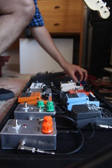 Music settings (Felafel Squarcia) Tags: music colors play guitar buttons pedals jacks setting levels