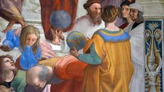 Raphael, Zoroaster, Ptolemy, Raphael (profzucker) Tags: italy vatican philosophy classical raphael fresco renaissance ancientgreece stanza papal stanzadellasegnatura segnatura