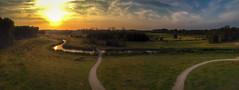 Sunset (Arie van Tilborg) Tags: vlaardingen broekpolder klauterwoud