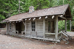 White River Patrol Cabin (d*lindsay) Tags: washington rainiernationalpark glacierbasintrail whiteriverpatrolcabin