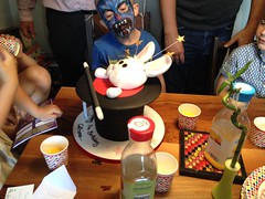 A real magician's cake (goforchris) Tags: parties catriona birthdayparty seven birthdays entertainers