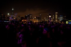Lollapalooza 2014: Chicago Skyline at Night