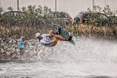 Wakeboard DM 2014 (René Eriksen) Tags: summer game water sport fun surf action board cable riding wakeboard win active ccp wakedm wakedm14