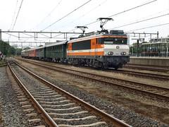 Locon 9908 at Apeldoorn, August 2, 2014 (cklx) Tags: amsterdam 600 500 excursion apeldoorn beekbergen vsm 9802 9908 locon traintour bakkies railexperts