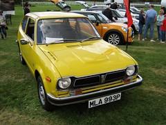 1975 HONDA 1169cc CIVIC MLA993P (Midlands Vehicle Photographer.) Tags: honda 1975 civic 1169cc mla993p