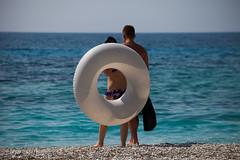 water donuts (filipe mota rebelo | 400.000 views! thank you) Tags: blue vacation canon couple europe donuts balkans albania 2014 balcans fmr plazhi pasqyra 5dmarkii filipemotarebelo