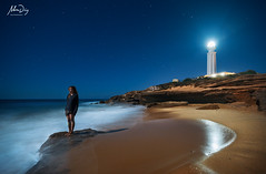 Cape of dreams (alonsodr) Tags: longexposure nightphotography seascape lightpainting night marina noche andaluca nocturnal sony trafalgar torch nocturna alpha cdiz alonso carlzeiss linterna largaexposicin alonsodr alpha99 a99 fotografanocturna alonsodaz cz1635mm prettyphotogallery0