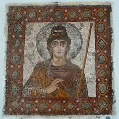 The Lady of Carthage, mosaic, end... (7-bc) Tags: tunisia mosaic vandal archeology carthage byzantine byzance uploaded:by=flickstagram instagram:venuename=carthagenationalmuseum instagram:venue=223940759 instagram:photo=79902773775416063117785338