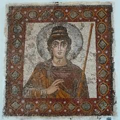The Lady of Carthage, mosaic, end... (7-bc) Tags: tunisia mosaic vandal archeology carthage byzantine byzance uploaded:by=flickstagram instagram:venuename=carthagenationalmuseum instagram:venue=223940759 instagram:photo=79902773775416063117785338