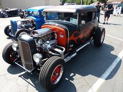 1930 ford (bballchico) Tags: 1930 ford modela 5window coupe tomharris flames hotrod ratbastardscarshow ratbastardsinfestationcarshow 2014 206 washingtonstate
