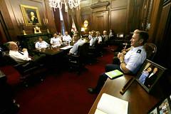08-21-2014 Air War College Grade Strategy Seminar meets with Governor Bentley