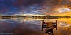 Green-point-pano (DavidGeoffreyGosling Photography) Tags: sunset sunrise australia centralcoast tascott terrigal