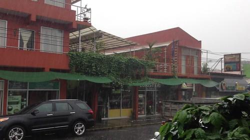 Downpour in La Fortuna, Costa Rica