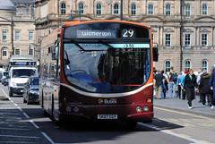 140 (Callum's Buses & Stuff) Tags: bus buses edinburgh lothian eclips madder lothianbuses edinburghbus b7rle madderandwhite madderwhite sk07cgy stockbrig busesedinburgh buseslothianbuses