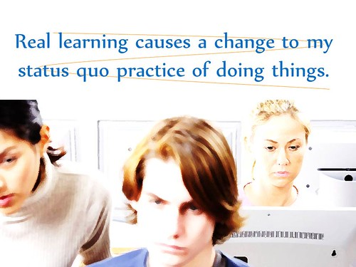 "Educational Postcard: ""Real learning is by Ken Whytock, on Flickr"