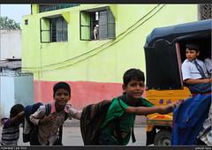 Train (AnimeshHazra) Tags: auto street people india window kids train hyderabad