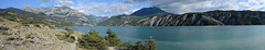 Panoramique Lac de Serre Poncon (chris062) Tags: gitesvacances