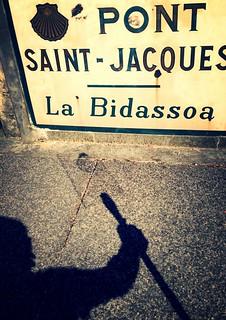 Sur le pont Saint-Jacques