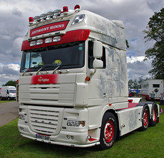 Anthony Binns DAF XF AB07DAF (andyflyer) Tags: truck lorry trucking haulage truckfest hgv roadtransport dafxf roadhaulage ab07daf truckfestscotland2014 2014truckfest 2014truckfestscotland anthonybinns