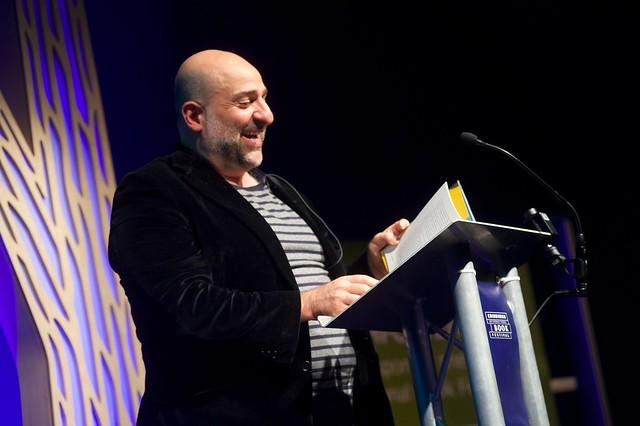 Omid Djalili at The Edinburgh International Book Festival