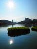 2014-08-30 07.41.22 (pang yu liu) Tags: 2014 08 aug 八月 南投 旅遊 travel nantou day2 sun moon lake 日月潭 騎車 風景 landscape sunny flare 太陽 星芒 reflection 反射 cycling